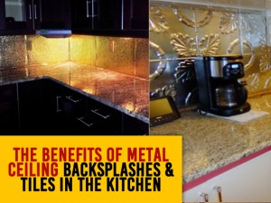 Metal Tile Backsplash to Your Kitchen!