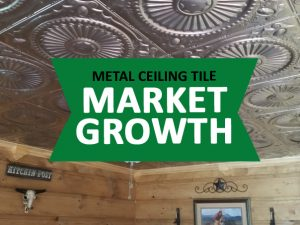 metal ceiling tile market