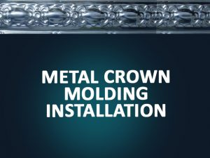 metal crown molding