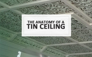 Anatomy Of A Tin Ceiling