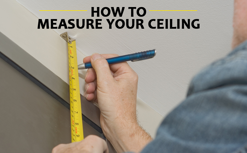 learn how to measure your ceiling for metal tiles