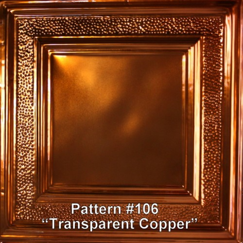 Transparent Copper (High Gloss)