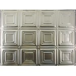 "#120B 18"" x 24"" Backsplash Tin/Metal Tile - Sixteen Mini Squares"