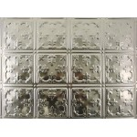 "#121B 18"" x 24"" Backsplash Tin/Metal Tile - African Barbary"