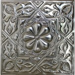 #129 Tin/Metal Ceiling Tile - Artisian Medallion