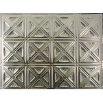 "#131B 18"" x 24"" Backsplash Tin/Metal Tile - Sixteen Diamonds"