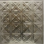 #131 Tin/Metal Ceiling Tile - Sixteen Diamonds