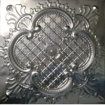 #104 Tin/Metal Ceiling Tile - Elegant Clover - 24 in pattern