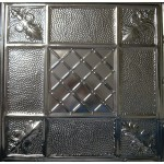 #114 Tin/Metal Ceiling Tile - Mediterranean Pebble
