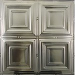 #101 Tin/Metal Ceiling Tile - Classic Four Square