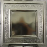 #106 Tin/Metal Ceiling Tile - Eccentric Mirror