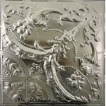 #109 Tin/Metal Ceiling Tile - Gothic Medallion