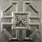 #113 Tin/Metal Ceiling Tile - Peened Craftsman