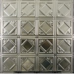 #119 Tin/Metal Ceiling Tile - Classic Mini Diamond
