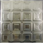 #120 Tin/Metal Ceiling Tile - Sixteen Mini Squares
