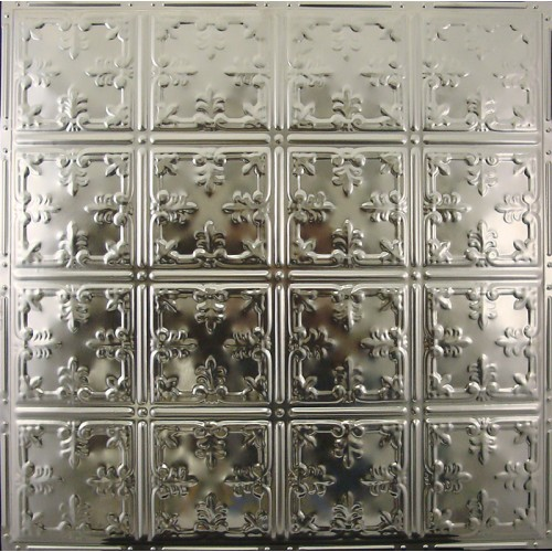 "#121 Tin/Metal Ceiling Tile - African Barbary (24"" x 24"") ($1.69 sq. ft.)"