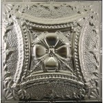 #122 Tin/Metal Ceiling Tile - Embossed Knight