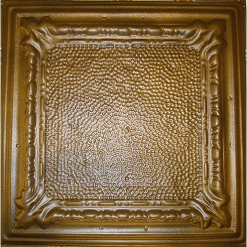 "#128 Tin/Metal Ceiling Tile - Peened Frame (24"" x 24"") ($1.69 sq. ft.)"